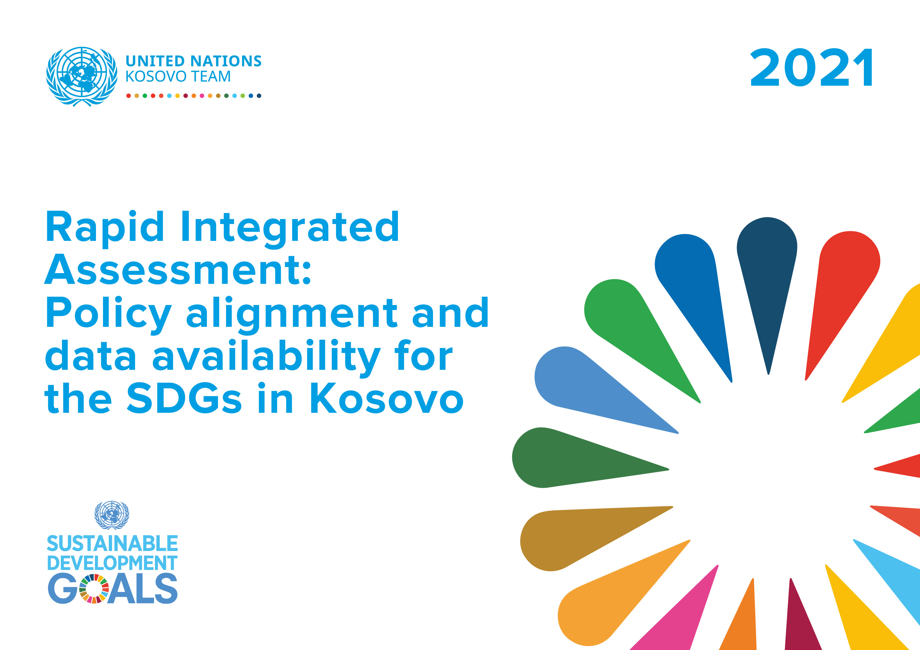 Rapid Integrated Assessment: Policy Alignment and Data Availability for the SDGs in Kosovo